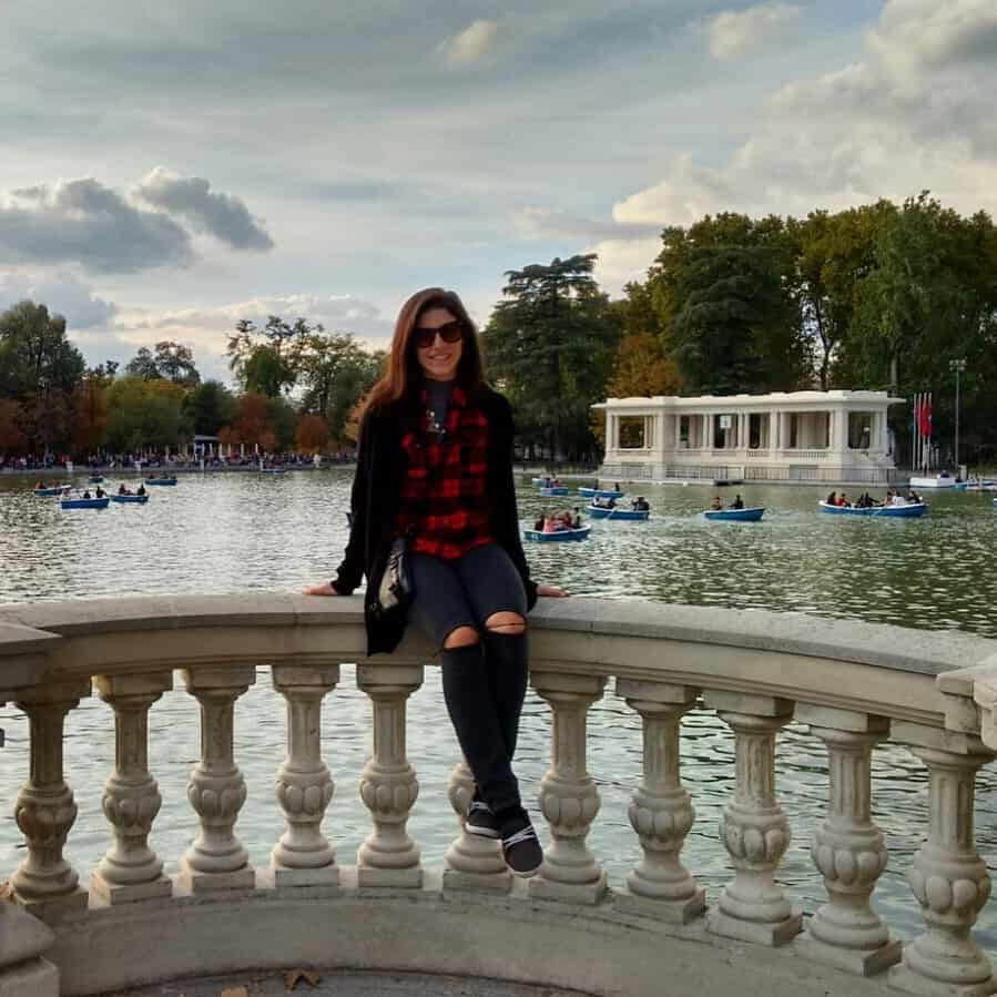 Being a tourist in my new city--Madrid, Spain.