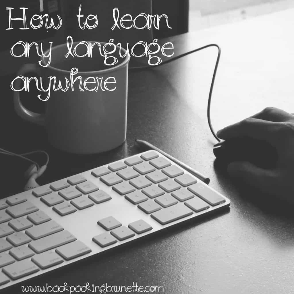 learn a language anywhere