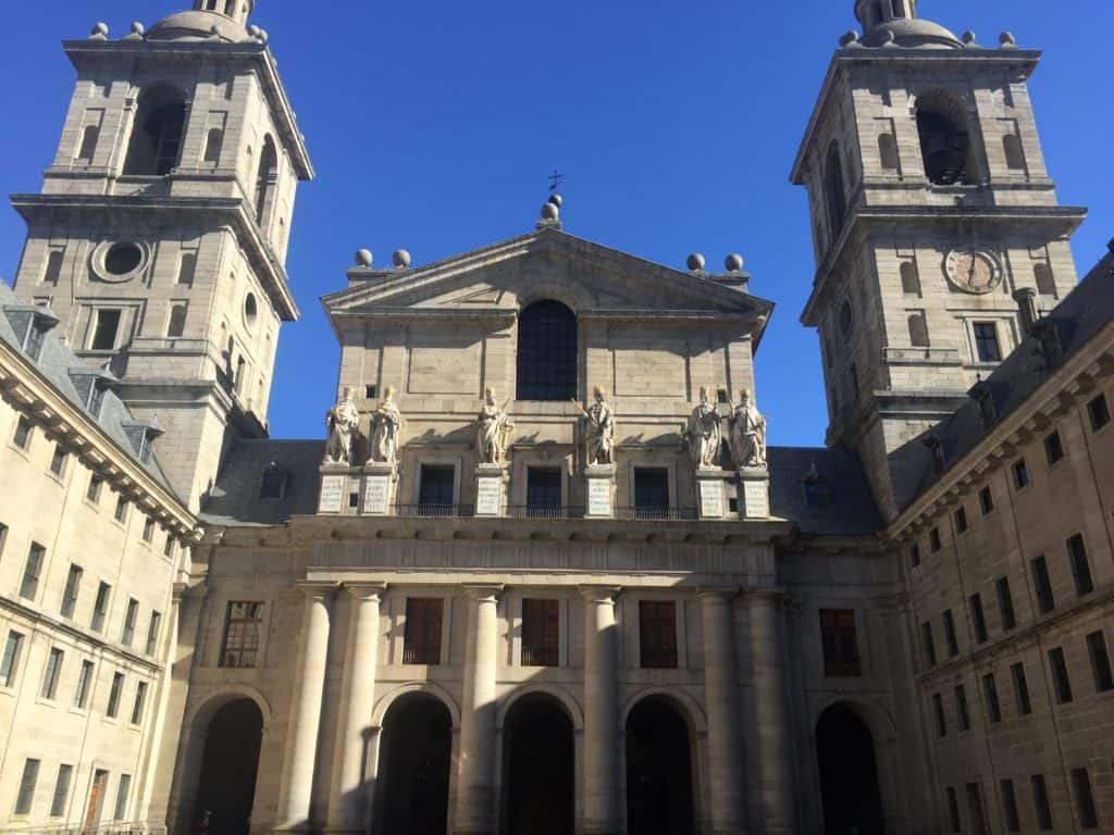 Don't forget to squeeze in a day trip when you're visiting Madrid! Check out El Escorial!