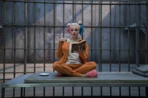 Even Harley Quinn knows reading is the absolute coolest.