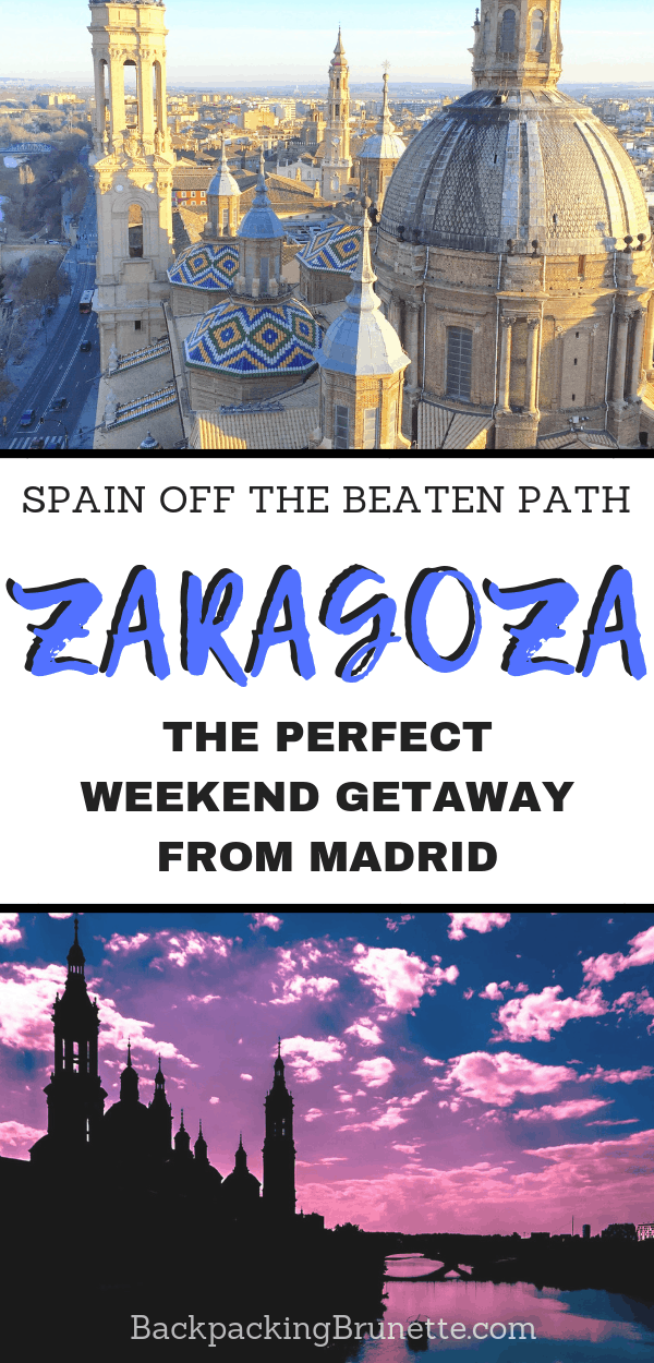 Looking for the perfect weekend getaway from Madrid? Make the most of your Spain travel itinerary and plan to visit Zaragoza, Spain! This Spain travel guide has the best things to do in Zaragoza, Spain!