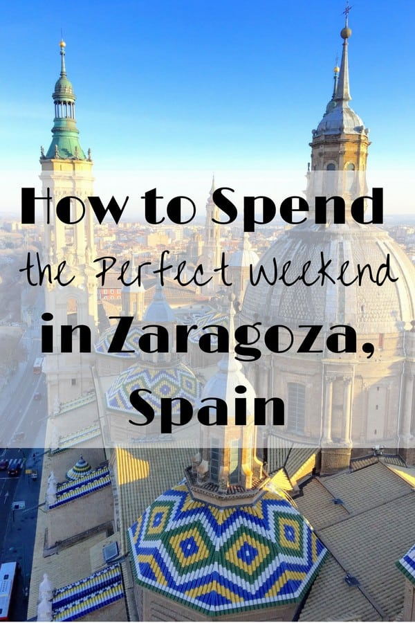 Highlights what to do in Zaragoza, Spain!