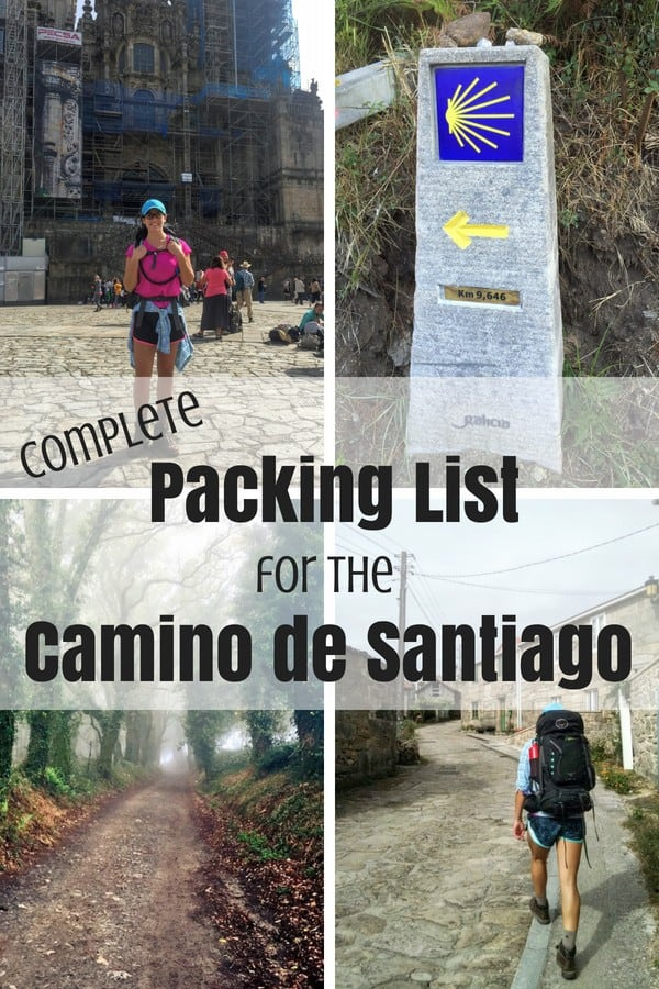 If you're planning on walking El Camino de Santiago, look no further than my ultimate packing list for El Camino.