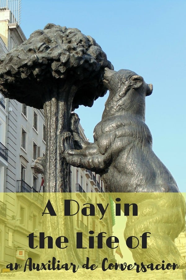 Here's a typical day in the life of an auxilar de conversación in Madrid, Spain!