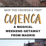 Researching Spain travel? Don't miss one of the best day trips from Madrid: visit Cuenca, Spain! This guide has all the best things to do in Cuenca, Spain. Start planning your weekend getaway from Madrid!
