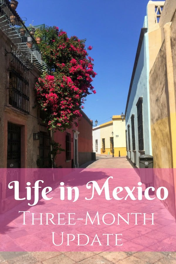 How has it already been three months? I couldn't be happier with my new life in Mexico!