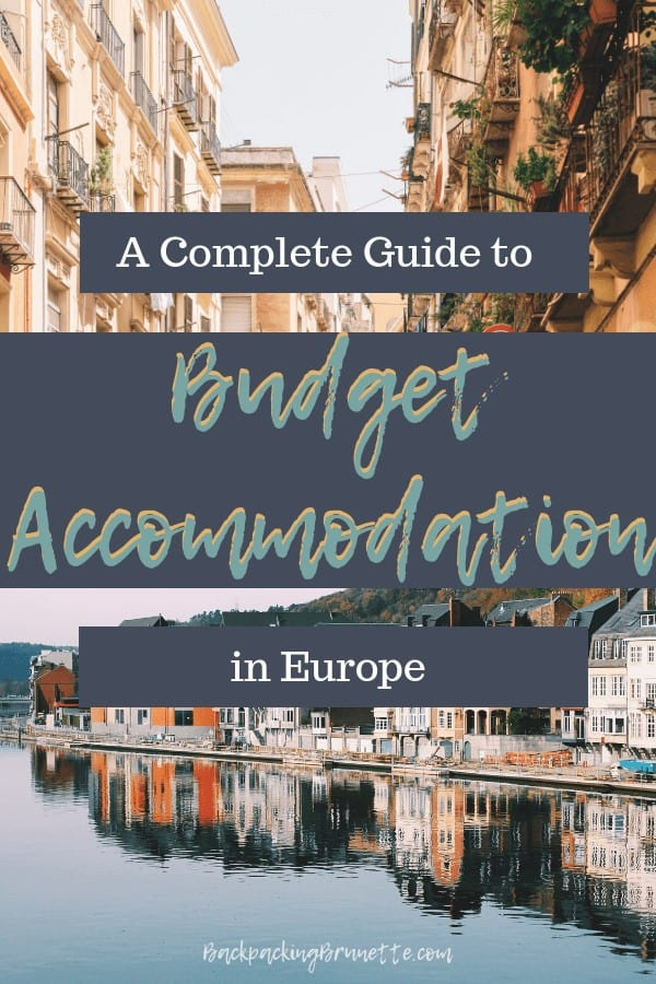 Learn how to travel cheap in Europe with this guide for where to stay in Europe! Important budget travel tips for anyone backpacking through Europe!