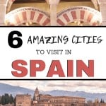 Starting to make your Spain travel itinerary? Check out this list of best places to visit in Spain! These travel tips for Valencia, Granada, Spain, and more will make your Spain vacation one to remember!