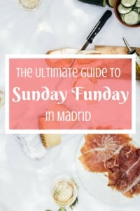 From churrosfor breakfast to copas at the club, experiencing Sunday in Madrid is essential for understanding the Spanish capital.