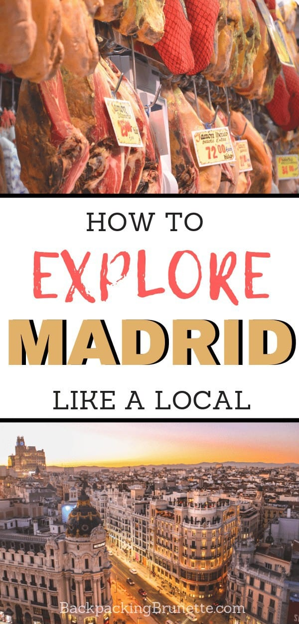 One of the things you must do in Spain is visit Madrid! You can explore the city like a local with these amazing things to do in Madrid!