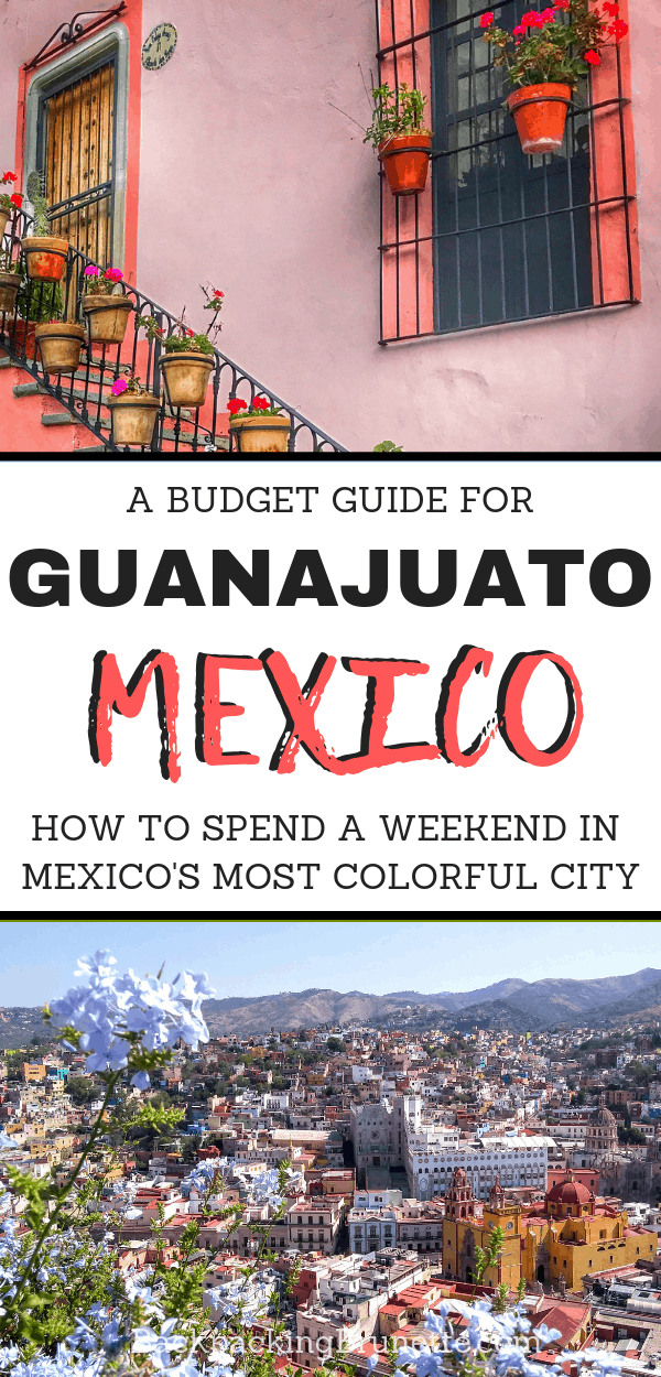 Spend you Mexico vacation in the country's most colorful city! This guide has all the best things to do in Guanajuato, Mexico. Plus, budget travel tips for Mexico!