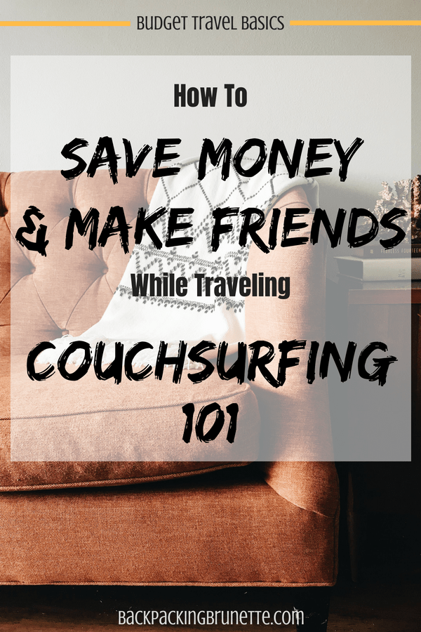 Score free accommodation when traveling with one of the ultimate travel hacks: Couchsurfing! Find out how you can travel Europe for cheap and make local connections with this ultimate Couchsurfing guide! Complete with solo female travel tips!