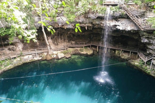 One of the best things to do in Yucatan is swim in the most beautiful cenotes in Mexico!