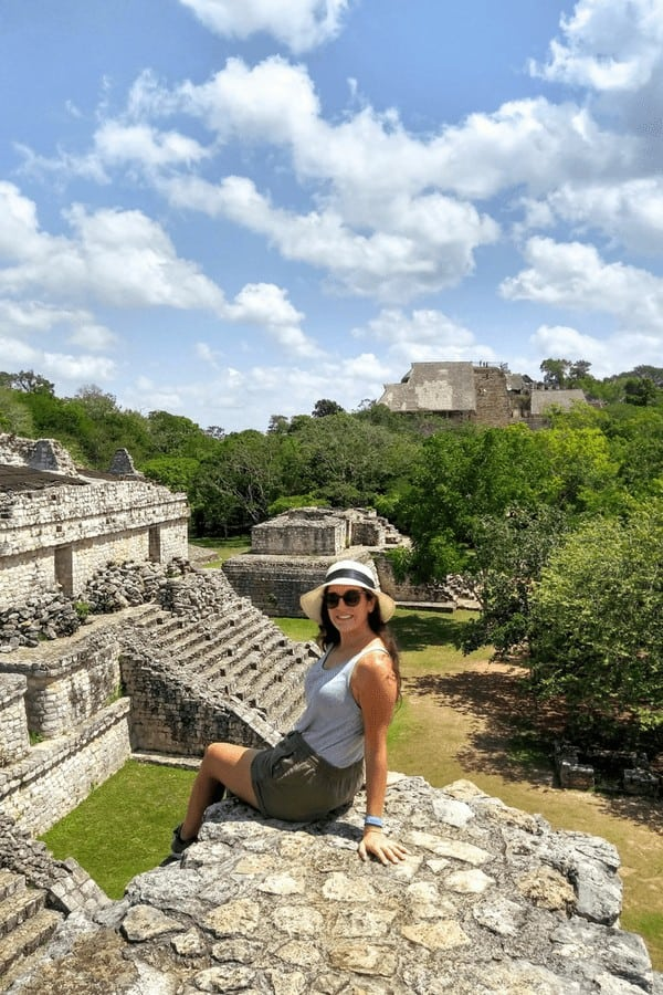 As you're making your backpacking Yucatan itinerary, don't forget to visit the best Mayan ruins in Mexico! Get off the beaten path and visit Ek' Balam near Valladolid, Mexico!