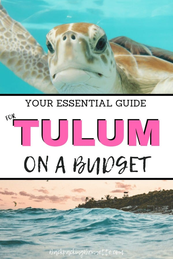 Don't miss one of the best places in Yucatan. Backpacking Tulum? You need these tip to visit Tulum, Mexico, on a budget!
