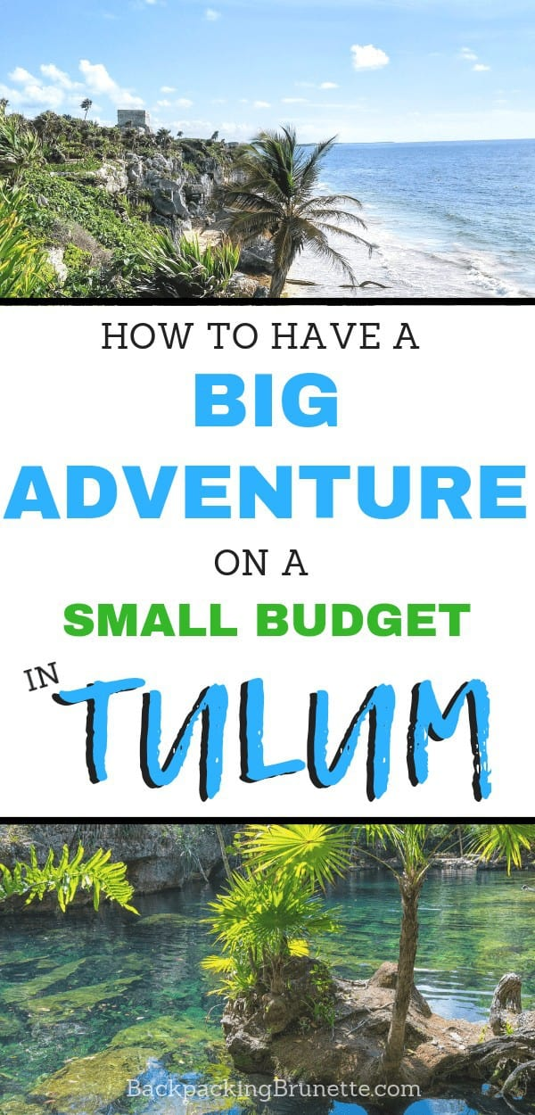 From where to stay in Tulum, Mexico, to how to visit the Tulum, Mexico, ruins, this has all the best things to do in Tulum on a budget!