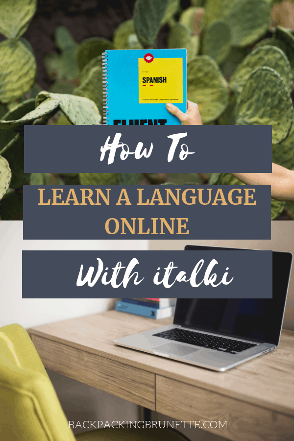Use italki to learn a language online