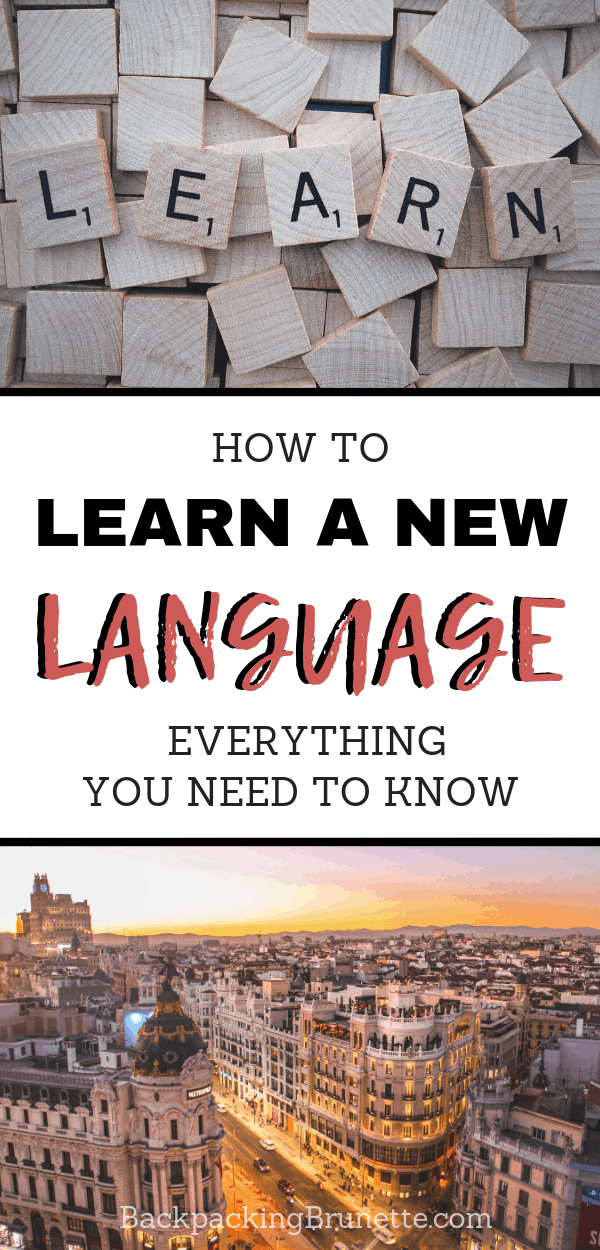 Want to know how to learn a new language? You need these tips to learn a new language! Don't miss the special resource guide for how to learn Spanish!