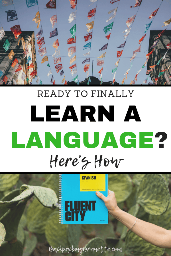 Want to finally learn a foreign language? This guide tells you how to learn a new language starting today!