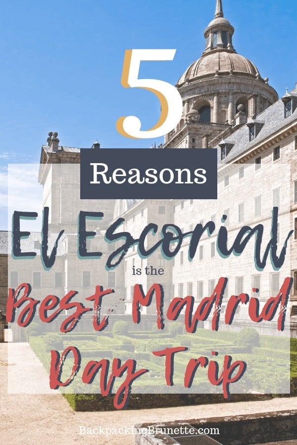 A day trip to El Escorial is one of the best non tourist things to do in Madrid!