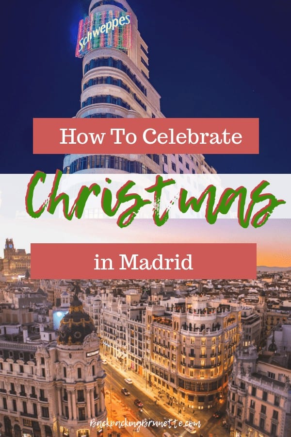 Celebrate Christmas in Spain with these non touristy things to do in Madrid!