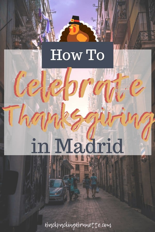 Celebrate Thanksgiving in Spain with these non touristy things to do in Madrid!
