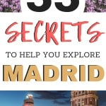 Non touristy things to do in Madrid! Get off the beaten path when you travel Spain! Fun things to do in Madrid on the weekend!