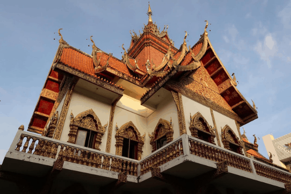 Checking out the amazing architecture is one of the best things to do in Southeast Asia!