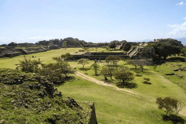 The ancient ruins of Monte Alban is one of the best day trips from Oaxaca! Learn more in this must-read Oaxaca backpacking guide!