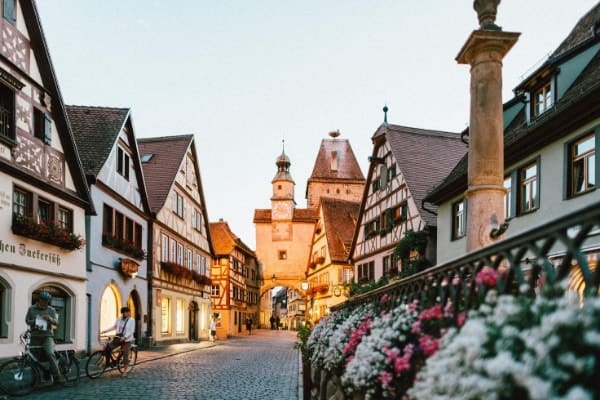 One of my top tips for traveling Europe on a budget is to visit lesser-known destinations. Add small towns in Germany to your backpacking Europe itinerary!