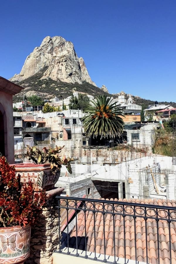 With its impressive Peña de Bernal, Bernal is one of the best small towns in Mexico!