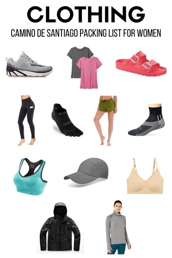 Wondering what to pack for the Camino de Santiago? Check out the ultimate Camino packing list for women!