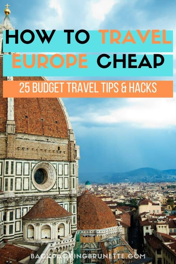 Want to know how to save money in Europe? Learn how to travel Europe cheap with these budget travel tips and hacks.