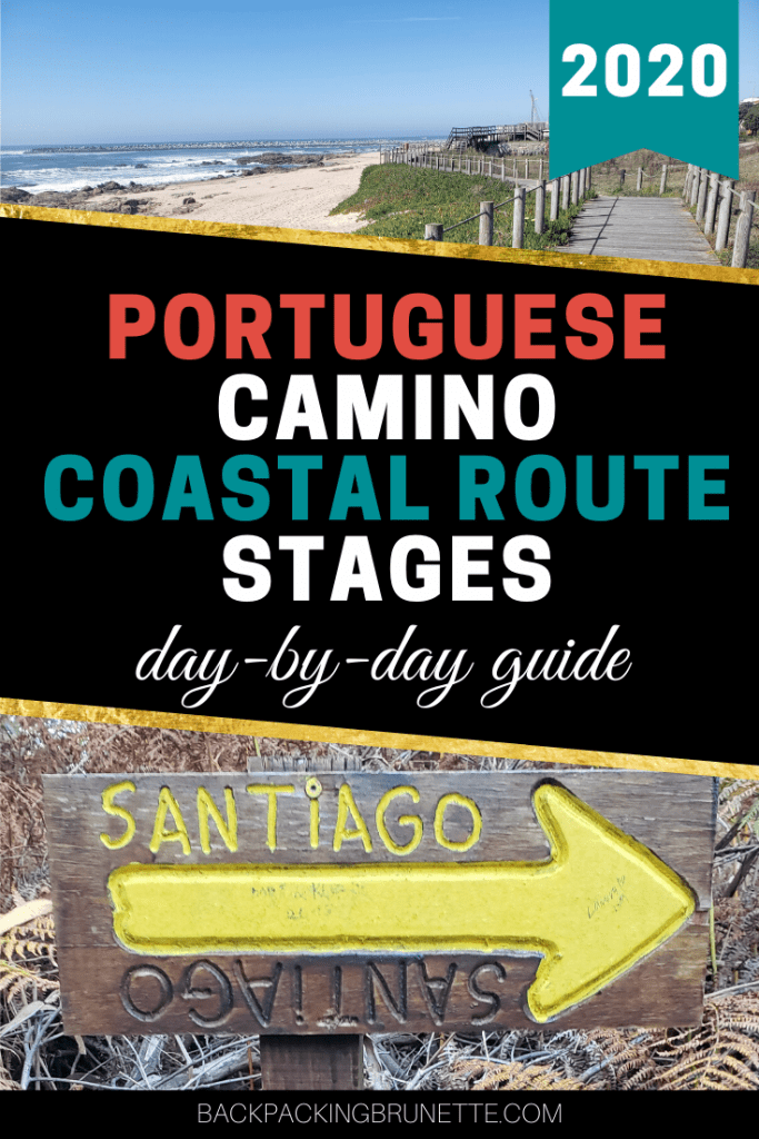 Complete 2020 guide for Portuguese Camino Coastal route stages!