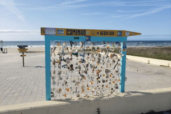 Walk the Portuguese Coastal Camino from Porto for beautiful views of the ocean.