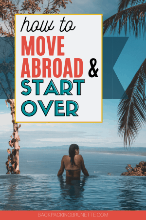 move to another country start over