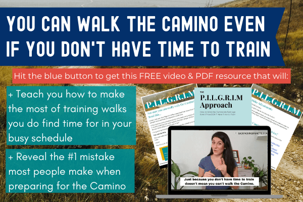 how to prepare for the Camino
