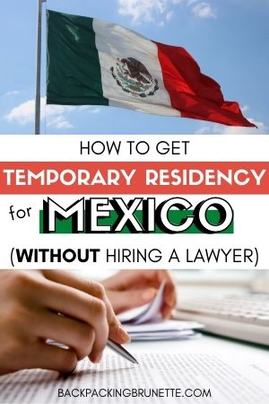 temporary residency Mexico