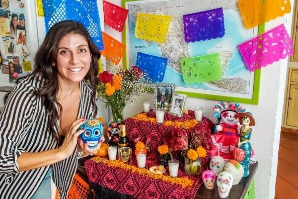 mexico day of the dead altar
