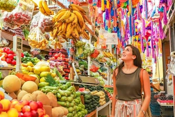 living in Mexico market
