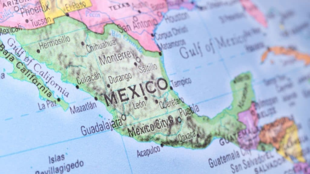 moving to mexico map