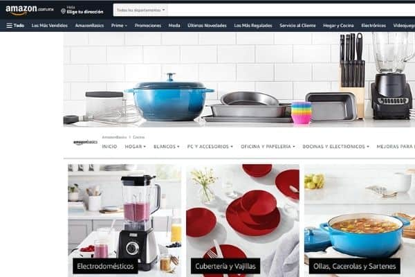 online shopping Mexico Amazon